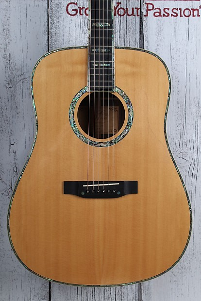 Morgan Monroe Rocky Top MSD-45A Dreadnought Acoustic Guitar Natural Gloss  Finish