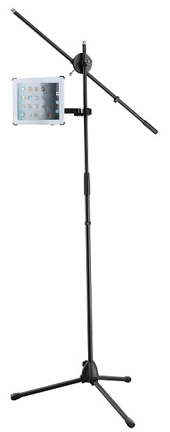 Universal Ipad And Tablet Holder For Microphone Stand