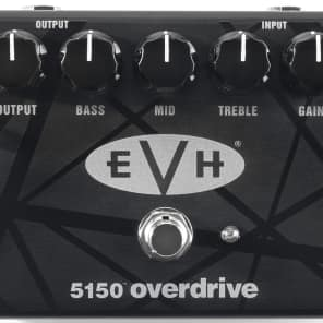 MXR EVH5150 Eddie Van Halen Overdrive Guitar Effect Pedal for sale