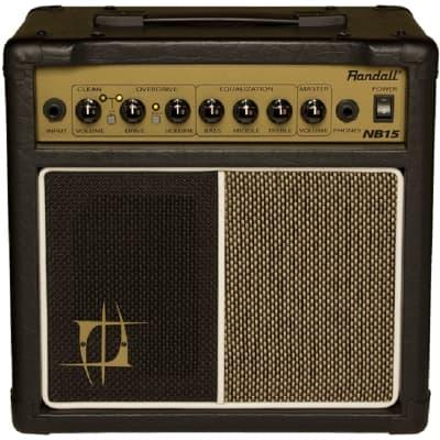 Randall NB15 Nuno Bettencourt Signature 2 Channel Practice Guitar Combo Amplifier