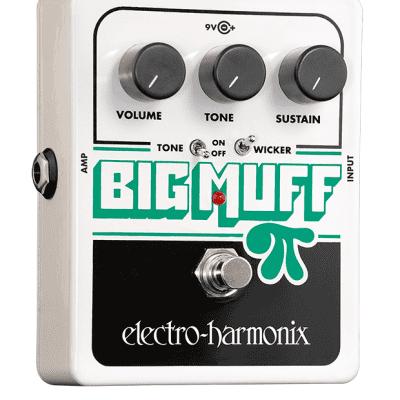 New Electro-Harmonix EHX Big Muff Pi w/ Tone Wicker Guitar Effects Pedal!
