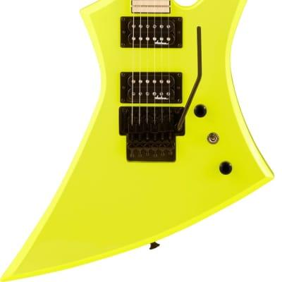 Jackson X Series Kelly KEXM Maple Fingerboard Neon Yellow