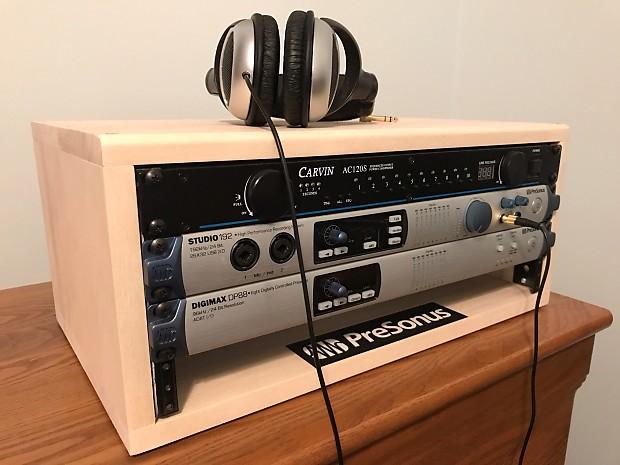 Homemade Audio Rack 2017 Aspen- Unfinished