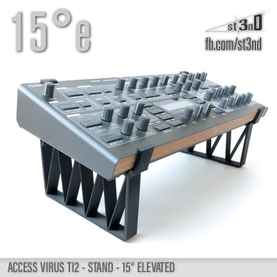 ACCESS VIRUS Ti2 STAND 15 deg. elevated - 3D printed- 100% Buyers Satisfaction