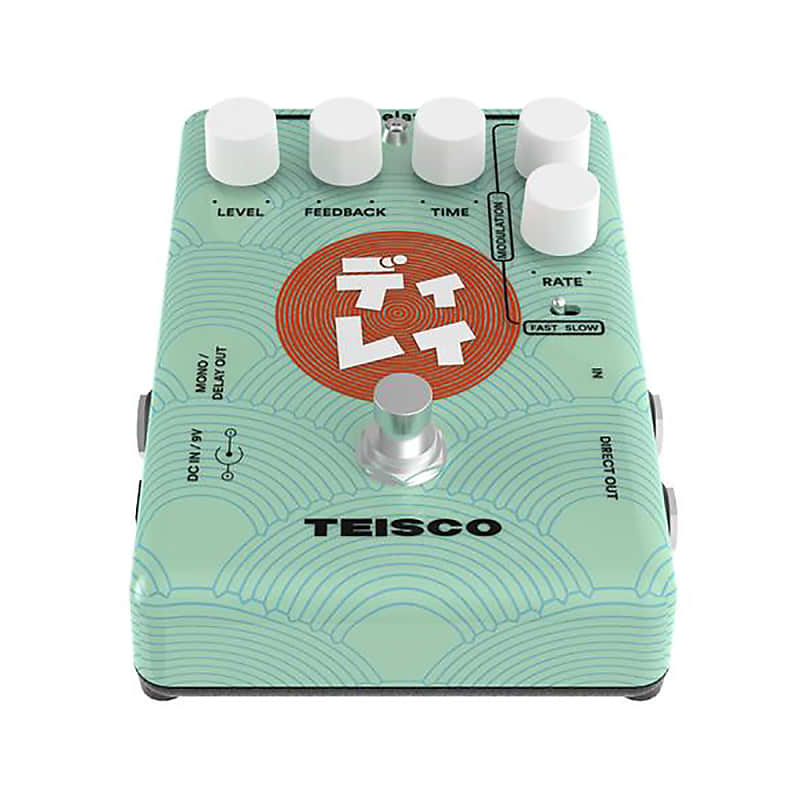 teisco delay guitar effects pedal music store live reverb. Black Bedroom Furniture Sets. Home Design Ideas