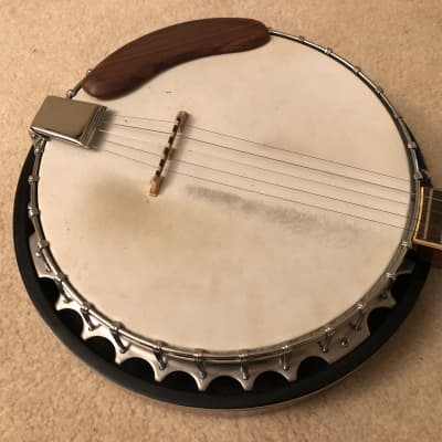 Vintage MIK Horug'el  HB-75 5-String Banjo, Case & Accessories for sale