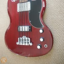 Gibson SG Bass Standard Heritage Cherry 2000s image