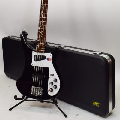 Rickenbacker 4003S/5 5-String Electric Bass with Jet Glow Finish for sale