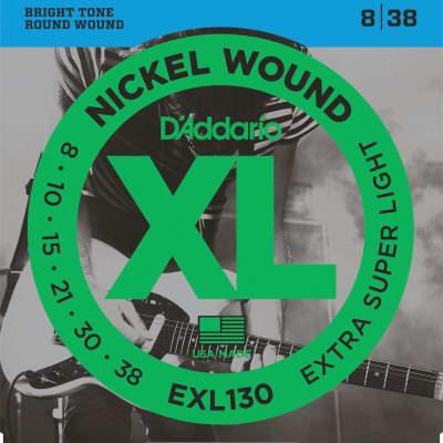 D'Addario XL Nickel Electric Strings - 8-38