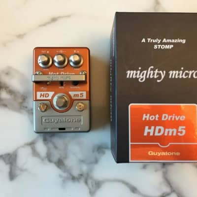 Guyatone HDm5 Mighty Micro Hot Drive Overdrive Guitar Effect Pedal MIJ Japan for sale