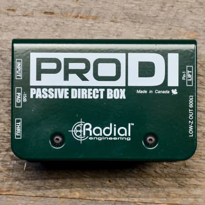 Radial Pro-DI Passive Direct Box USED
