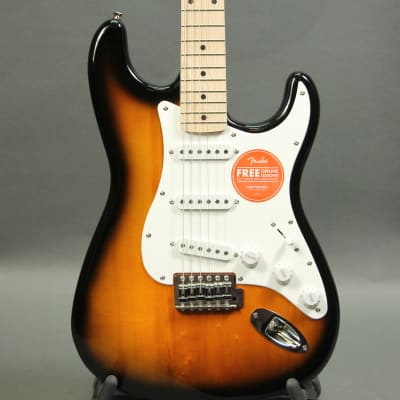 Squier Affinity Series Stratocaster (2-Tone Sunburst) for sale