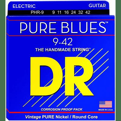 DR Pure Blues PHR-9 Electric Guitar Lite 9-42