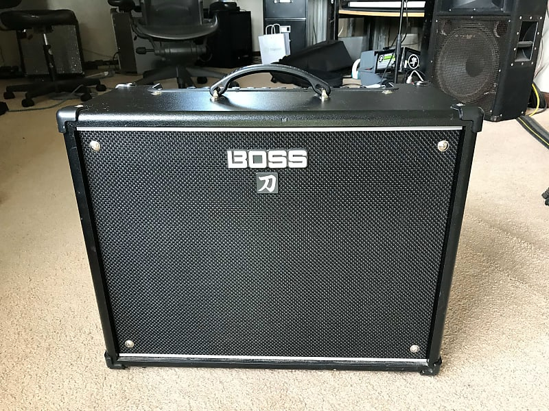 boss ktn 100 katana 100 watt 1x12 modeling guitar combo reverb. Black Bedroom Furniture Sets. Home Design Ideas