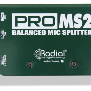 Radial ProMS2 Passive Microphone Splitter