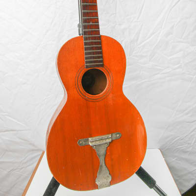 c 1891 Imperial Parlor Guitar Steel Tailpiece for sale