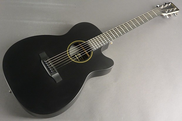 Martin 00cxae Thin Body Acoustic Electric Guitar Black