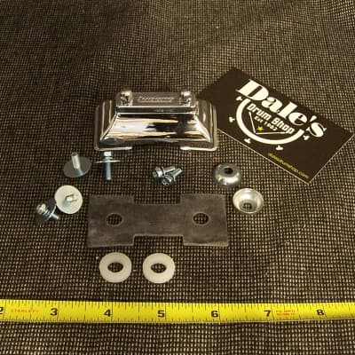 Ludwig drums Parts P-33 Die-Cast snare drum butt with screws gasket Chrome