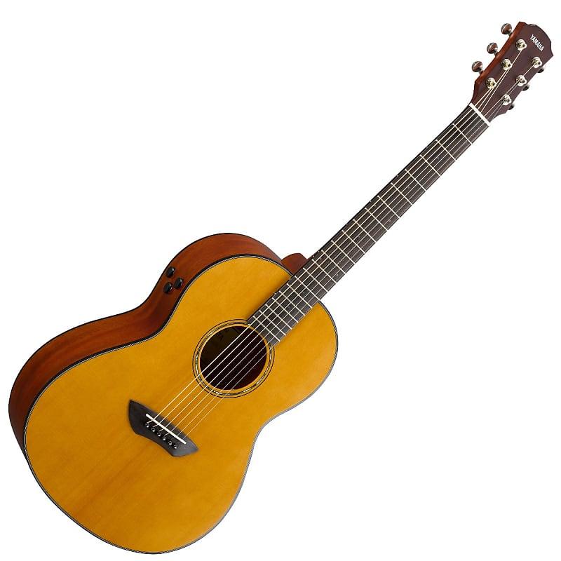 Yamaha Csf Ta Transacoustic Guitar Vintage Natural Reverb