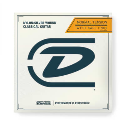 Dunlop Ball End Classical String Set, Normal Tension