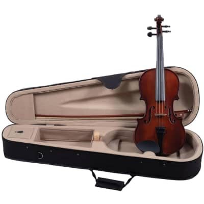 Palatino VN-350 Campus Hand-Carved Violin Outfit with Case, 1/10 Size