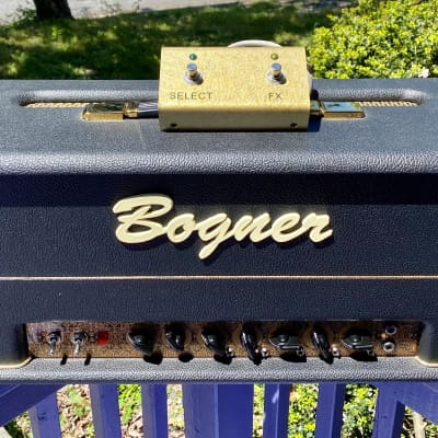 Bogner Helios 100 Hand-Wired 2-Channel 100-Watt Guitar Amp Head for sale