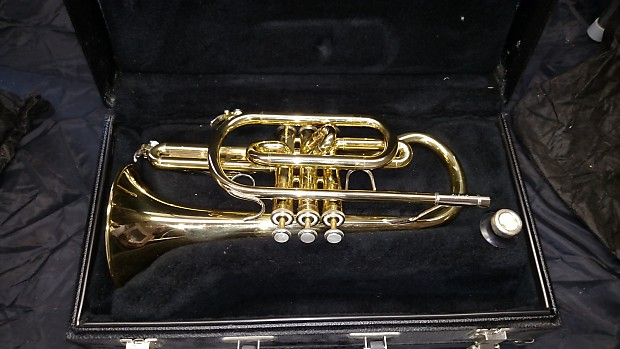Bach Cr310 Brass Cornet Reverb