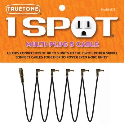 1-SPOT Multi-Plug 5 Cable Daisy-Chain Guitar Pedal Adapter MC5 Visual Sound