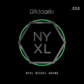 D'Addario NYXL Nickel Wound Electric Guitar Single String .050