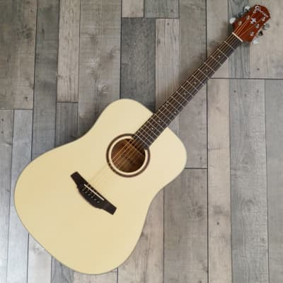 Crafter HD-100/OP.N Dreadnought Steel String Acoustic Guitar, Satin Natural for sale