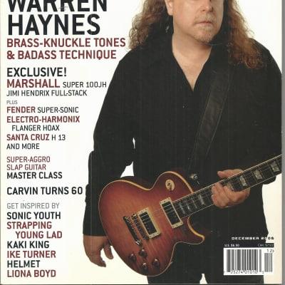 Guitar Player-Magazine, December 2006