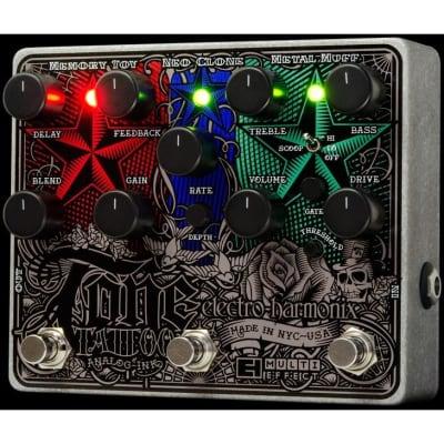 Electro-Harmonix Tone Tattoo Drive Analog Multi-Effects Pedal for sale
