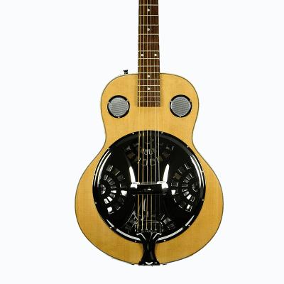 De Rosa Dobro Resonator Acoustic Guitar DBI-8-VSB-NT Natural for sale