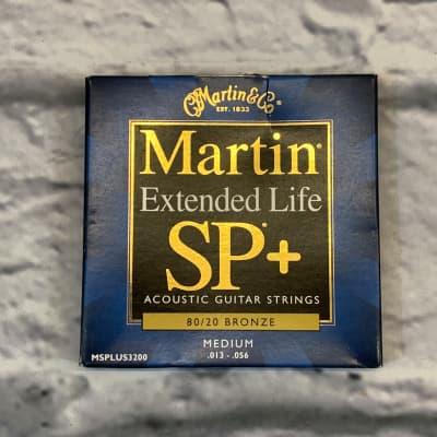 Martin Extended Life SP+ Medium 13-56 Acoustic Guitar Strings