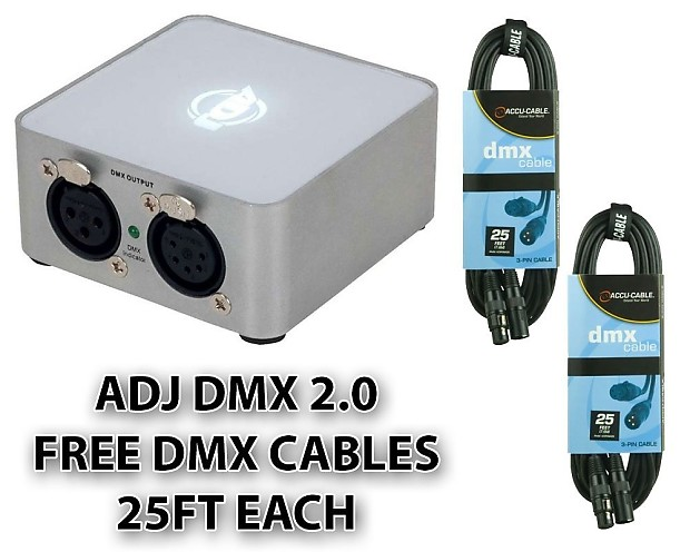 American Dj Supply My Dmx 3 0 Special Effects Lighting And