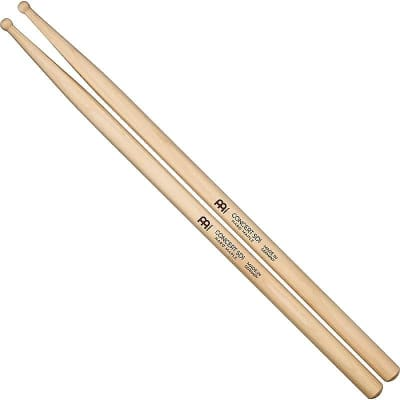 Meinl SB113 Concert SD1 Hard Maple (Pair) Drum Sticks w/ Video Link