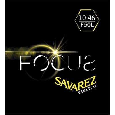 Savarez F50 L Corde Focus Per Chitarra Elettrica 10 46. Set/6