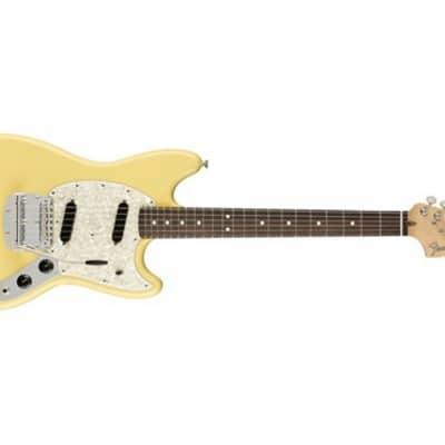 Fender American Performer Mustang Electric Guitar (Vintage White) (Used/Mint)