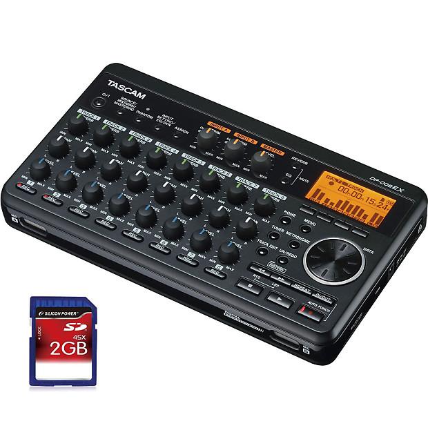 tascam dp008ex portable multi track recorder new reverb. Black Bedroom Furniture Sets. Home Design Ideas