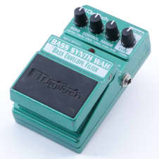 Digitech Bass Synth Wah Envelope Filter Guitar Effects Pedal P-04865