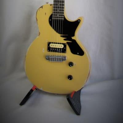 Margasa Joker 2018, TV Yellow, with Margasa Vintage Modern Humbucker