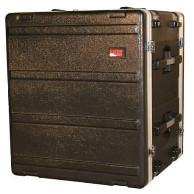 """Gator Cases Lightweight Molded Shock Rack Case with 16.5"""" depth; 12U Size (G-SHOCK-12L)"""