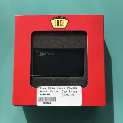 Lace Sensor Ultra Slim Acoustic Pickup 2010s Black Micro Crinkle for sale