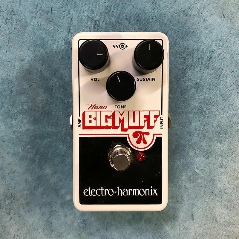 Electro-Harmonix EHX Nano Big Muff Pi Distortion / Fuzz Effects Pedal