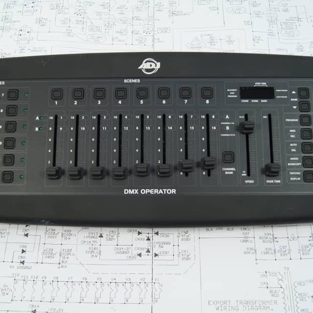 ADJ DMX Operator 2000's Black image