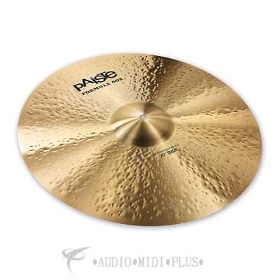 Paiste 22 inch Formula 602 Modern Essentials Ride Cymbal - 1141622-697643111110