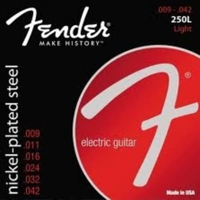Fender 250L Electric Ball-End Strings - 9's