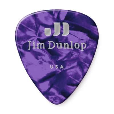 Dunlop 483P13XH Classic Celluloid Pearloid Extra Heavy Guitar Picks (12-Pack)