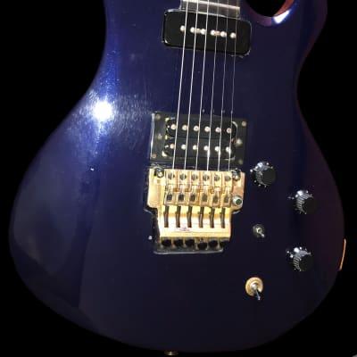 1985 Gibson Q-300/3000 Metallic Blue!