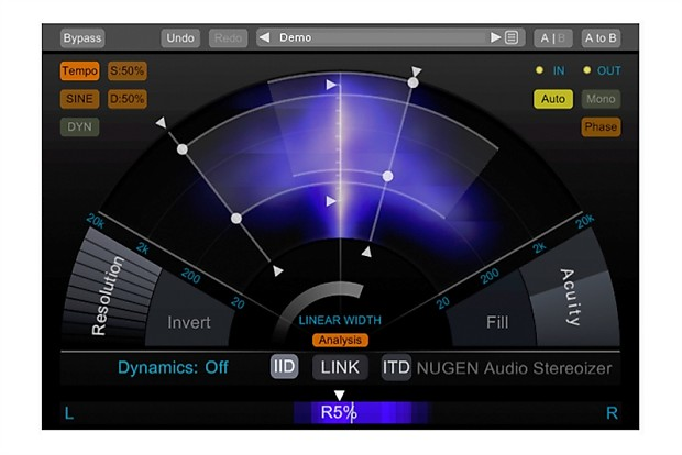 NUGEN Audio Stereoizer Elements Magical Stereo Image Enhancer